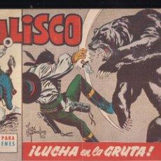 Tebeos: JALISCO Nº 17: LUCHA EN LA GRUTA. Lote 209091300
