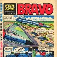 Tebeos: BRAVO-REVISTA JUVENIL- Nº 32 -BLUEBERRY-AQUILES TALÓN-BLUEBERRY-GALAX-1968-BUENO-MUY ESCASO-4341. Lote 243188735