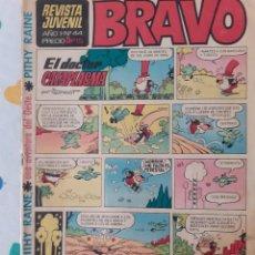 Tebeos: BRAVO-REVISTA JUVENIL- Nº 44 -PITHY RAINE-PERSONAJES CLÁSICOS BRUGUERA-1968-CORRECTO-ÚNICO TC-3649. Lote 209103688