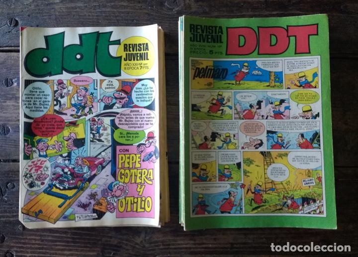 47 EJEMPLARES DDT ÉPOCA III (Tebeos y Comics - Bruguera - DDT)