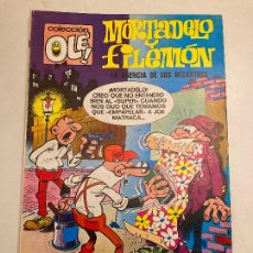 Giornalini: COLECCION OLE Nº 89 MORTADELO Y FILEMON. NUMERO EN LOMO. 2ª SEGUNDA EDICION BRUGUERA 1975. Lote 209170460