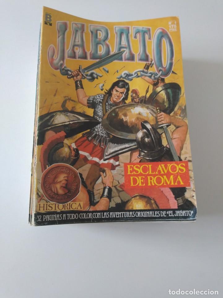 LOTE DE 41 CÓMICS EL JABATO EDICIÓN HISTÓRICA 1987-1988 1 EDICIÓN EDITORIAL BRUGUERA DEL 1 AL 41 (Tebeos y Comics - Bruguera - Jabato)