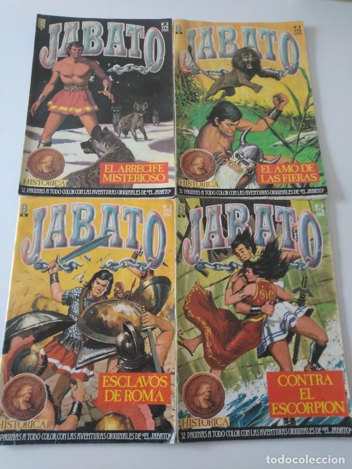 Tebeos: Lote de 41 Cómics El Jabato Edición Histórica 1987-1988 1 Edición Editorial Bruguera del 1 al 41 - Foto 5 - 209331241