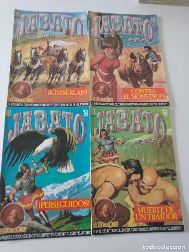 Tebeos: Lote de 41 Cómics El Jabato Edición Histórica 1987-1988 1 Edición Editorial Bruguera del 1 al 41 - Foto 6 - 209331241
