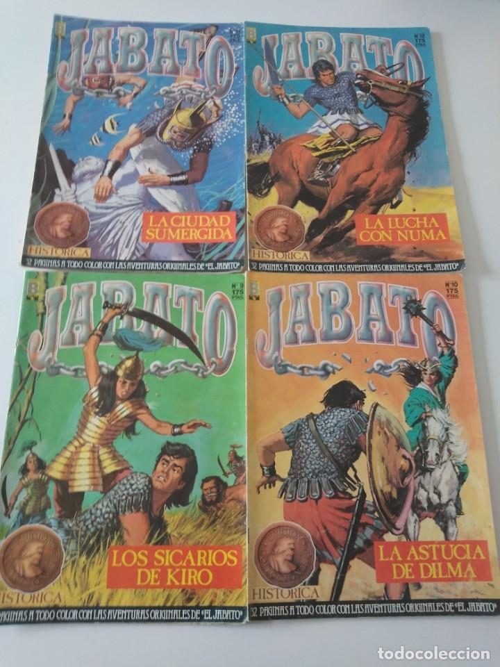 Tebeos: Lote de 41 Cómics El Jabato Edición Histórica 1987-1988 1 Edición Editorial Bruguera del 1 al 41 - Foto 7 - 209331241
