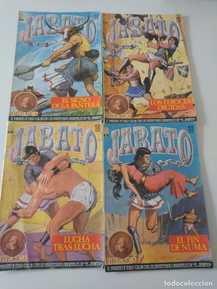 Tebeos: Lote de 41 Cómics El Jabato Edición Histórica 1987-1988 1 Edición Editorial Bruguera del 1 al 41 - Foto 8 - 209331241