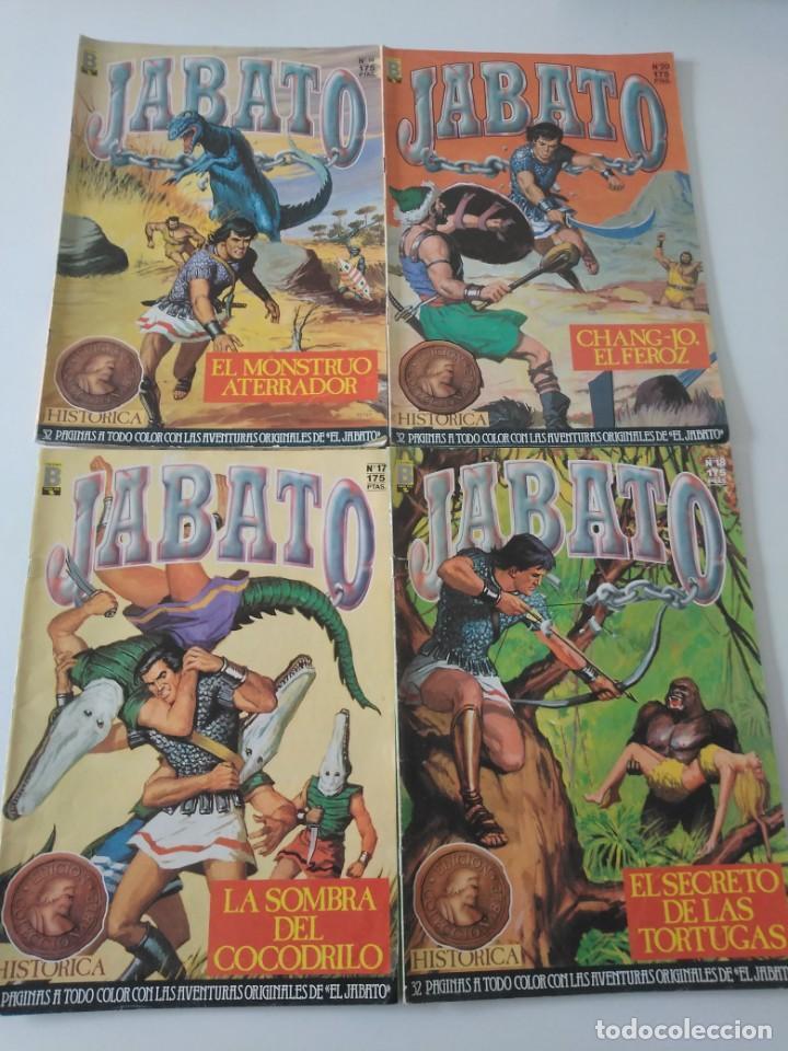 Tebeos: Lote de 41 Cómics El Jabato Edición Histórica 1987-1988 1 Edición Editorial Bruguera del 1 al 41 - Foto 9 - 209331241