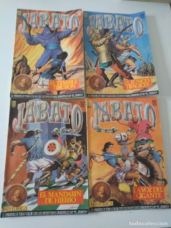 Tebeos: Lote de 41 Cómics El Jabato Edición Histórica 1987-1988 1 Edición Editorial Bruguera del 1 al 41 - Foto 10 - 209331241