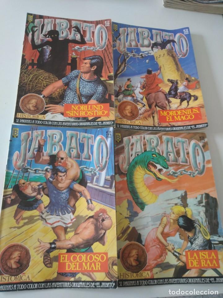 Tebeos: Lote de 41 Cómics El Jabato Edición Histórica 1987-1988 1 Edición Editorial Bruguera del 1 al 41 - Foto 11 - 209331241