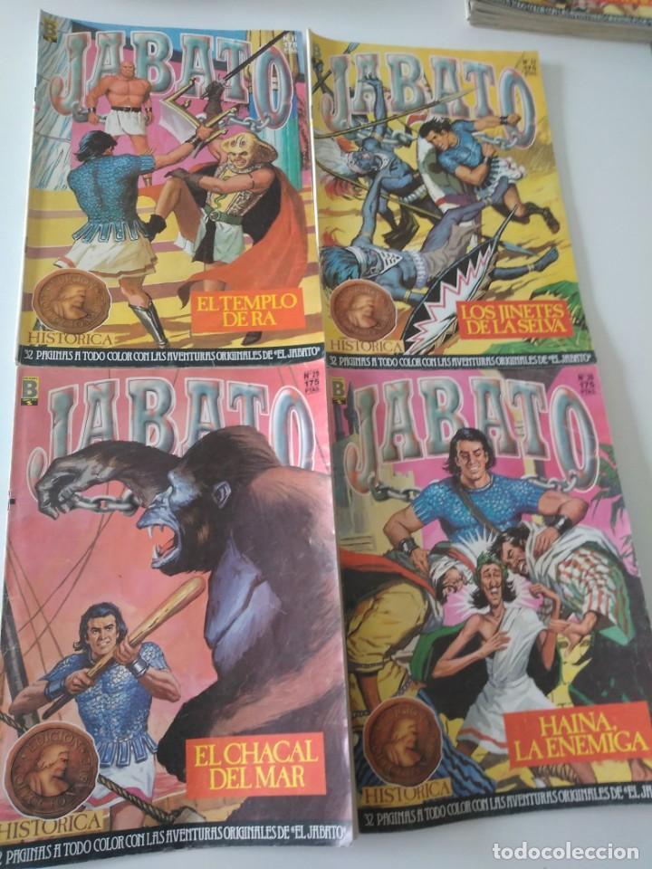 Tebeos: Lote de 41 Cómics El Jabato Edición Histórica 1987-1988 1 Edición Editorial Bruguera del 1 al 41 - Foto 12 - 209331241
