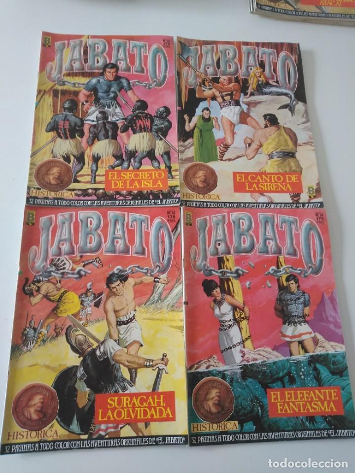 Tebeos: Lote de 41 Cómics El Jabato Edición Histórica 1987-1988 1 Edición Editorial Bruguera del 1 al 41 - Foto 13 - 209331241