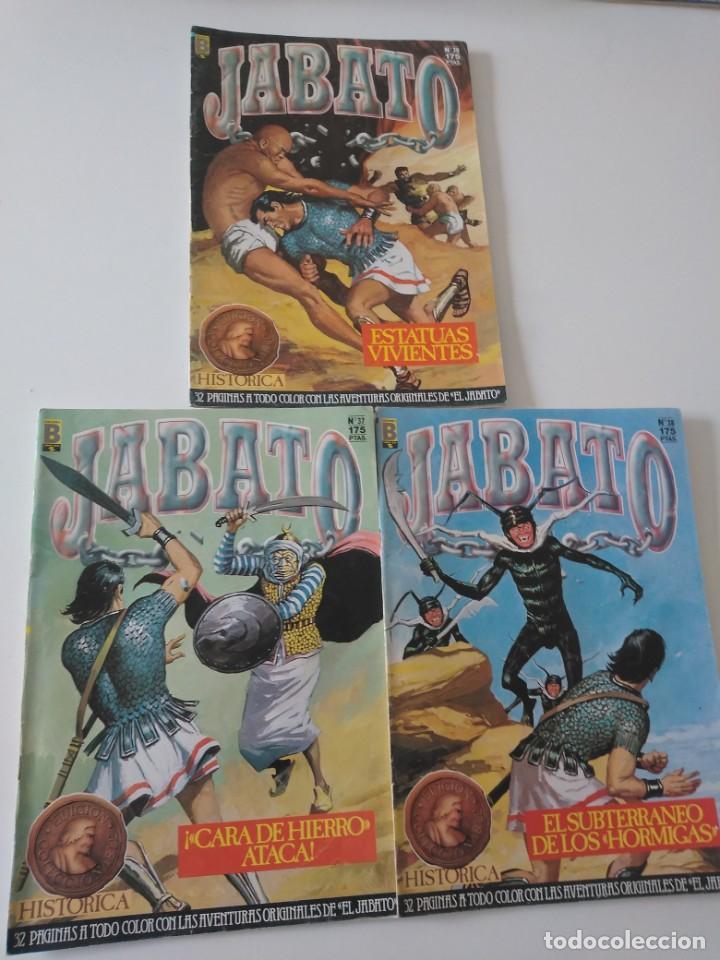 Tebeos: Lote de 41 Cómics El Jabato Edición Histórica 1987-1988 1 Edición Editorial Bruguera del 1 al 41 - Foto 14 - 209331241