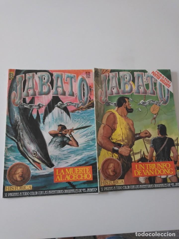 Tebeos: Lote de 41 Cómics El Jabato Edición Histórica 1987-1988 1 Edición Editorial Bruguera del 1 al 41 - Foto 15 - 209331241
