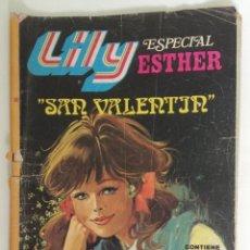 """Tebeos: LILY ESPECIAL ESTHER """"SAN VALENTÍN"""". Lote 209382451"""