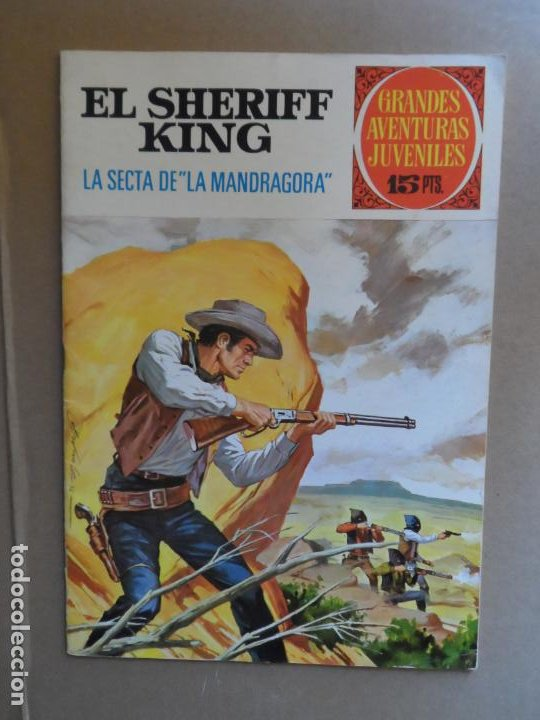 EL SHERIFF KING Nº 30 EDITORIAL BRUGUERA 1ª EDICION 15 PESETAS (Tebeos y Comics - Bruguera - Sheriff King)