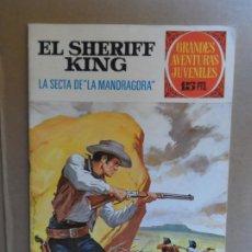 Tebeos: EL SHERIFF KING Nº 30 EDITORIAL BRUGUERA 1ª EDICION 15 PESETAS. Lote 209385736