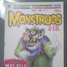 Tebeos: MONSTRUOS & CO 1 AÑO 1. Lote 209391520