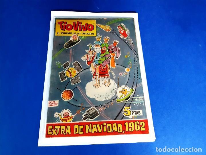 TIO VIVO - EXTRA DE NAVIDAD -1963-EXCELENTE ESTADO (Tebeos y Comics - Bruguera - Tio Vivo)