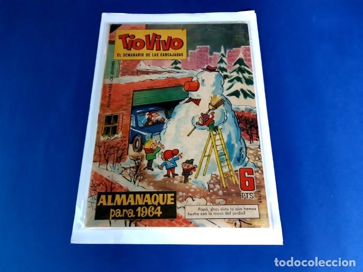 TIO VIVO - ALMANAQUE PARA 1964-EXCELENTE ESTADO (Tebeos y Comics - Bruguera - Tio Vivo)