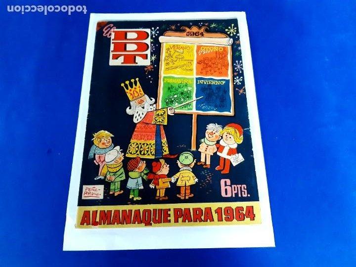 EL DDT ALMANAQUE PARA 1964 EXCELENTE ESTADO (Tebeos y Comics - Bruguera - DDT)