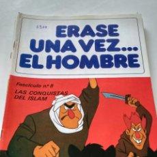 Tebeos: ÉRASE UNA VEZ... EL HOMBRE - FASCÍCULO 8. Lote 209632400