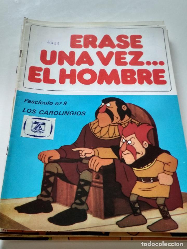 ÉRASE UNA VEZ... EL HOMBRE - FASCÍCULO 9 (Tebeos y Comics - Bruguera - Otros)