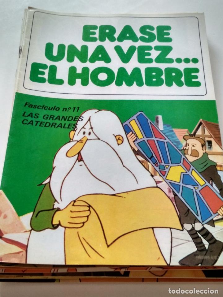 ÉRASE UNA VEZ... EL HOMBRE - FASCÍCULO 11 (Tebeos y Comics - Bruguera - Otros)