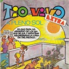 Tebeos: SUPER TIO VIVO - BRUGUERA EXTRA A PLENO SOL - 120 PESETAS - JUNIO 1983. Lote 209672162
