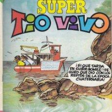 Tebeos: SUPER TIO VIVO - BRUGUERA Nº 129 - INCLUYE EL POSTER DE TULICREM. Lote 209672522