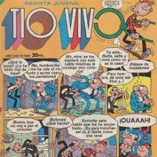 Tebeos: TIO VIVO - REVISTA JUVENIL Nº 1024. Lote 209672920