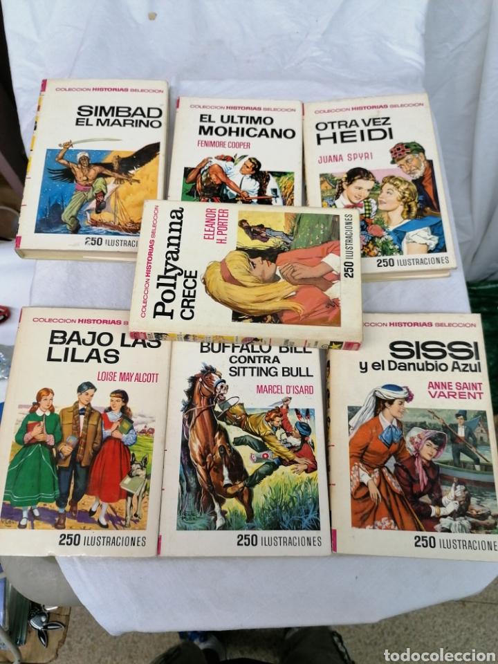 Tebeos: Lote 7 libros Colección Historias Selección Novelas Bruguera - Foto 2 - 209674077