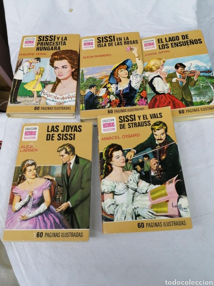 LOTE 5 NOVELAS COLECCIÓN HISTORIAS SELECCIÓN BRUGUERA SISI (Tebeos y Comics - Bruguera - Historias Selección)