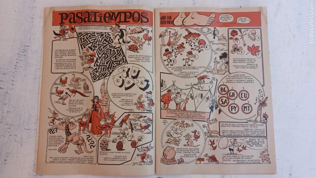 Tebeos: DDT EXTRA DE PRIMAVERA 1971, PASATIEMPOS SIN HACER - MUY NUEVO - Foto 6 - 209801915