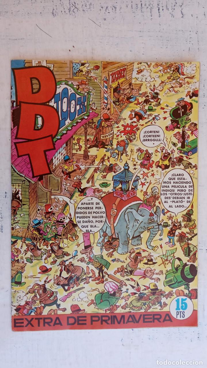 DDT EXTRA DE PRIMAVERA 1971, PASATIEMPOS SIN HACER - MUY NUEVO (Tebeos y Comics - Bruguera - DDT)