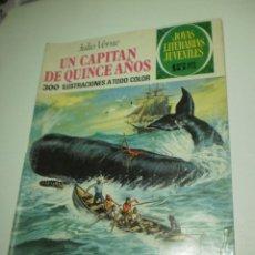 Livros de Banda Desenhada: UN CAPITÁN DE QUINCE AÑOS. JULIO VERNE. JOYAS LITERARIAS JUVENILES 101 1974 (ESTADO NORMAL). Lote 209836430