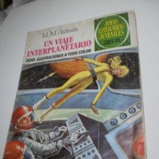Livros de Banda Desenhada: UN VIAJE INTERPLANETARIO. M. M.ASTRAIN. JOYAS LITERARIAS JUVENILES 64 1976 (ESTADO NORMAL). Lote 209837718
