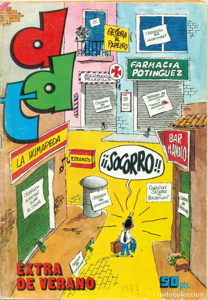 Tebeos: LOTE NUEVE EXTRAS DE VERANO DE DDT SE VENDEN TAMBIEN SUELTOS - Foto 9 - 209911325