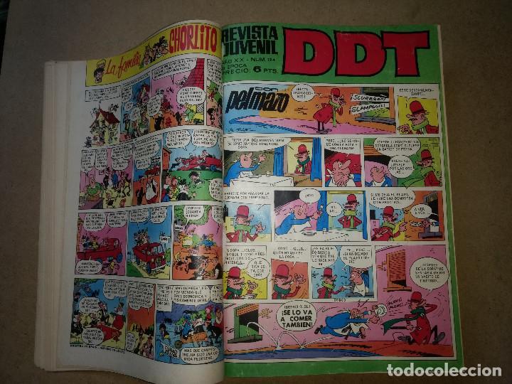 Tebeos: TOMO RETAPADO CON 33 DDT NºS del 141 al 224. BRUGUERA 1971. 6 PTS. BUEN ESTADO - Foto 3 - 209955978
