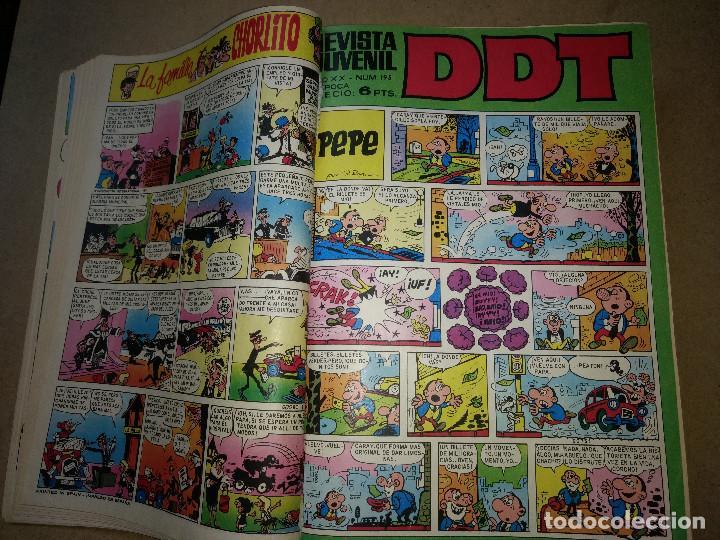 Tebeos: TOMO RETAPADO CON 33 DDT NºS del 141 al 224. BRUGUERA 1971. 6 PTS. BUEN ESTADO - Foto 4 - 209955978