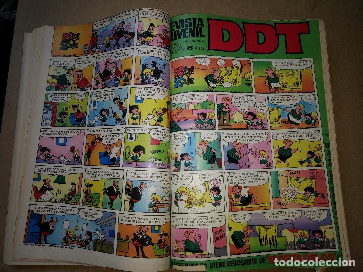 Tebeos: TOMO RETAPADO CON 33 DDT NºS del 141 al 224. BRUGUERA 1971. 6 PTS. BUEN ESTADO - Foto 11 - 209955978