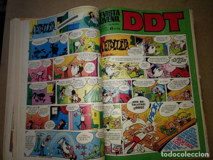 Tebeos: TOMO RETAPADO CON 33 DDT NºS del 141 al 224. BRUGUERA 1971. 6 PTS. BUEN ESTADO - Foto 12 - 209955978