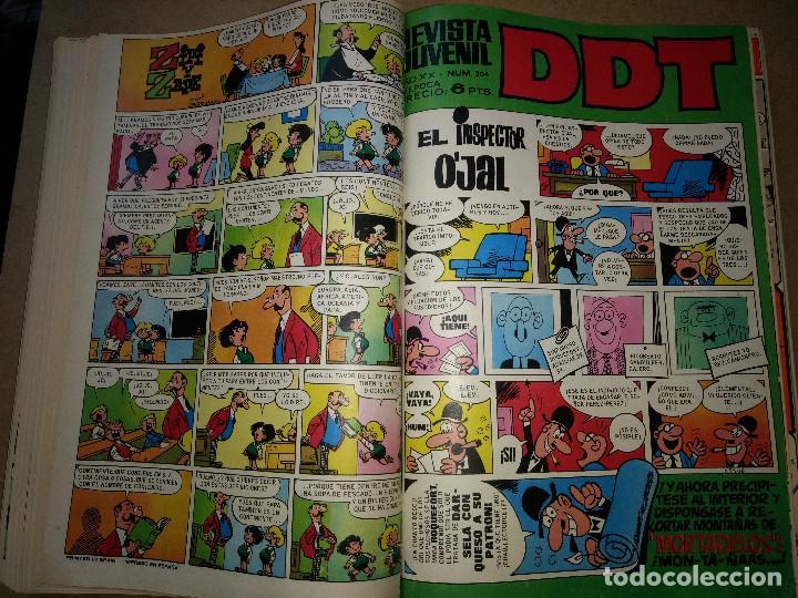 Tebeos: TOMO RETAPADO CON 33 DDT NºS del 141 al 224. BRUGUERA 1971. 6 PTS. BUEN ESTADO - Foto 13 - 209955978