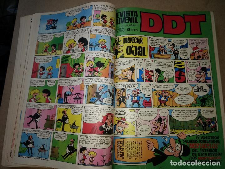 Tebeos: TOMO RETAPADO CON 33 DDT NºS del 141 al 224. BRUGUERA 1971. 6 PTS. BUEN ESTADO - Foto 14 - 209955978