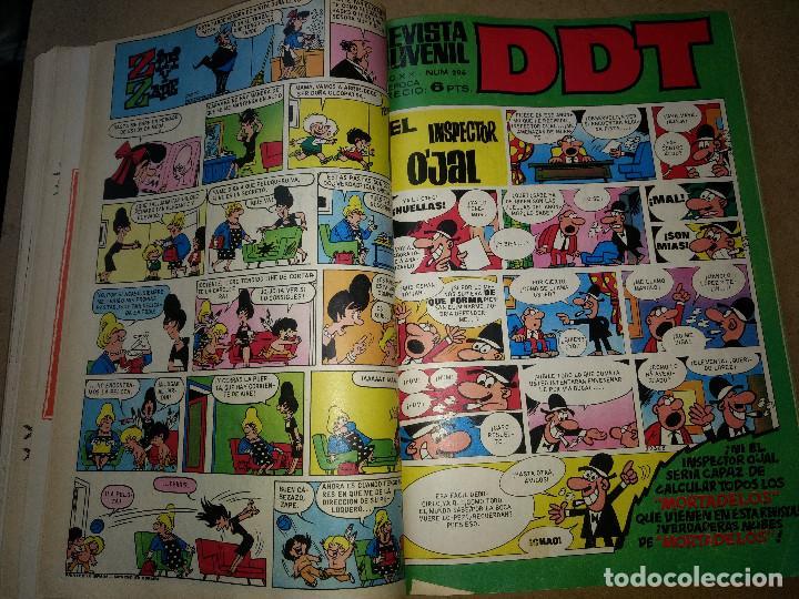 Tebeos: TOMO RETAPADO CON 33 DDT NºS del 141 al 224. BRUGUERA 1971. 6 PTS. BUEN ESTADO - Foto 15 - 209955978
