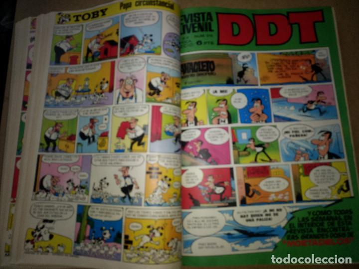 Tebeos: TOMO RETAPADO CON 33 DDT NºS del 141 al 224. BRUGUERA 1971. 6 PTS. BUEN ESTADO - Foto 19 - 209955978