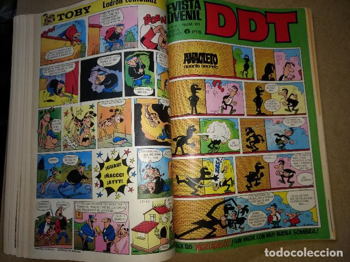 Tebeos: TOMO RETAPADO CON 33 DDT NºS del 141 al 224. BRUGUERA 1971. 6 PTS. BUEN ESTADO - Foto 28 - 209955978