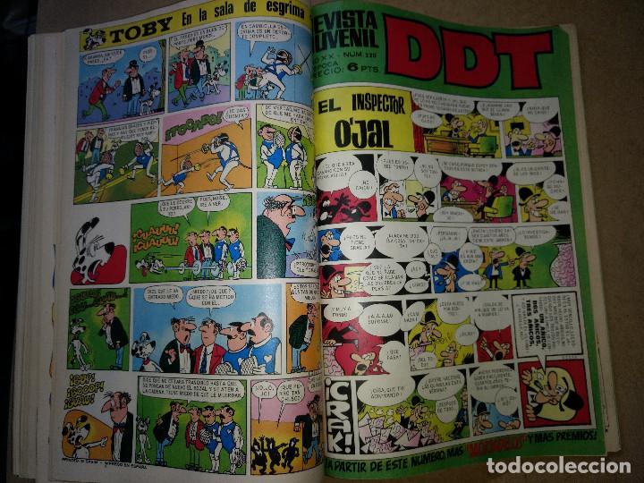 Tebeos: TOMO RETAPADO CON 33 DDT NºS del 141 al 224. BRUGUERA 1971. 6 PTS. BUEN ESTADO - Foto 29 - 209955978