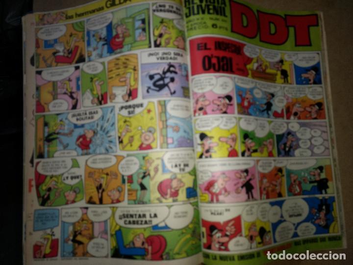 Tebeos: TOMO RETAPADO CON 33 DDT NºS del 141 al 224. BRUGUERA 1971. 6 PTS. BUEN ESTADO - Foto 33 - 209955978