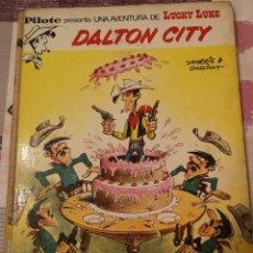 Tebeos: EST 10. A52. COMIC. LUCKY LUKE. DALTON CITY. 1972. Lote 209970168