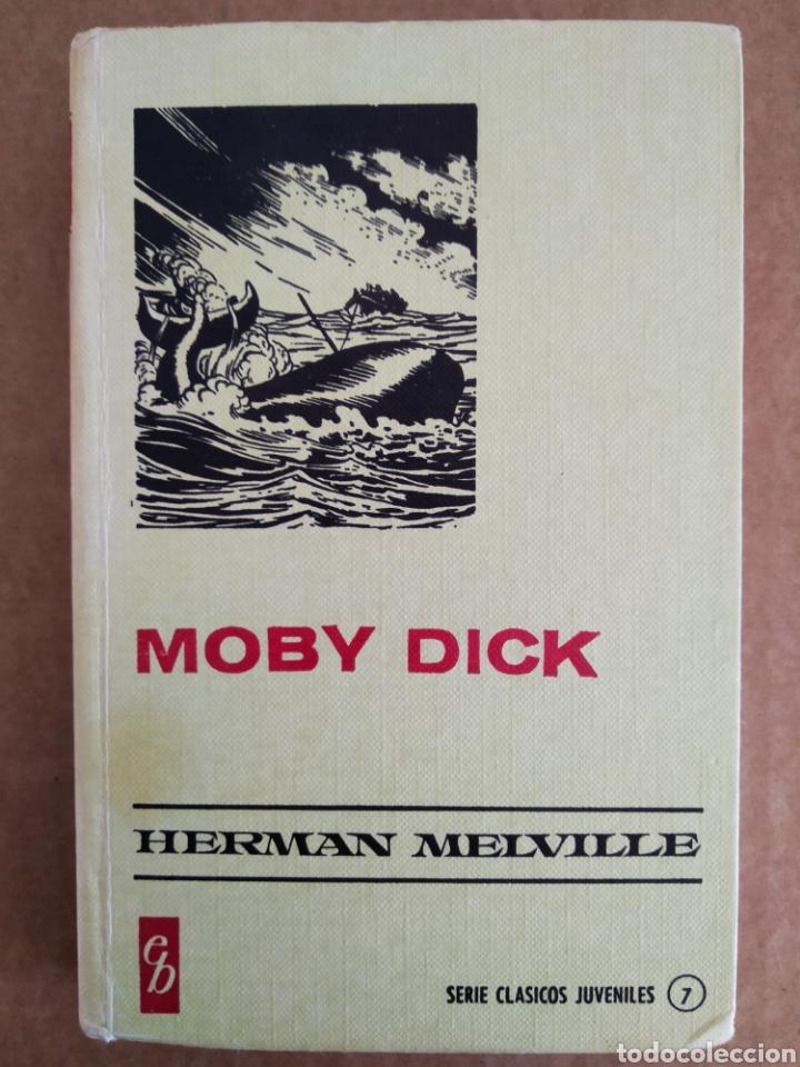 MOBY DICK, POR HERMAN MELVILLE (BRUGUERA, 1973). SERIE CLÁSICOS JUVENILES N°7/HISTORIAS SELECCIÓN (Tebeos y Comics - Bruguera - Historias Selección)